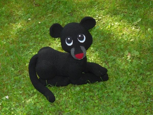 Amigurumis Amigurumi Panther Shadow Amigurumi