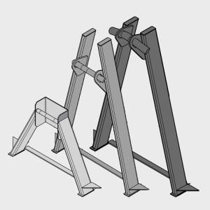 Hooklift A-Frames