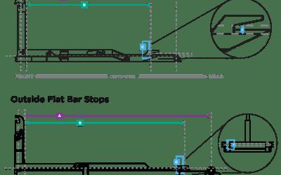 Hooklift Subframe Stops