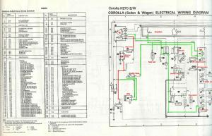Ke70 Wiring Diagram  Car Electrical  rollaclub