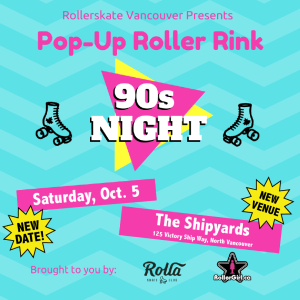 Pop Up Roller Rink North Vancouver