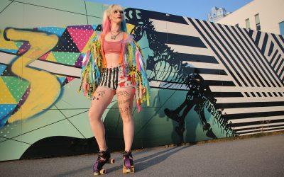 """Rollerskater Spotlight: Kat """"Alotta Java"""" Boucher"""