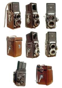 Classic Rolleiflex TLR Cameras: 2.8F and T.
