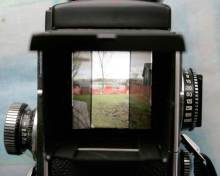 Masking the Rollei SL66 viewfinder