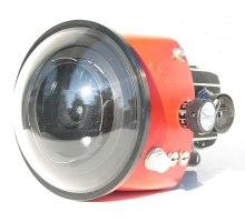 SL 66 Aquamarine housing front lens