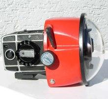 SL 66 inserted into Aquamarine housing front lens