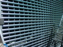 perforated roll-up gate