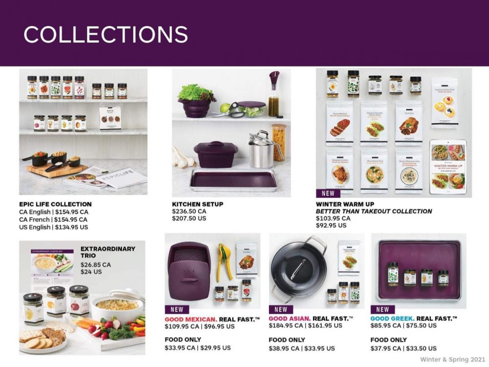 Many great collections of products available .