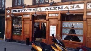 Cerveceria Alemana in Madrid was one of Ernest Hemingway's favorite hangouts.