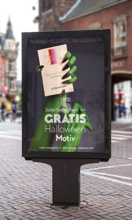 Plakat für Halloween - Kundenarbeit