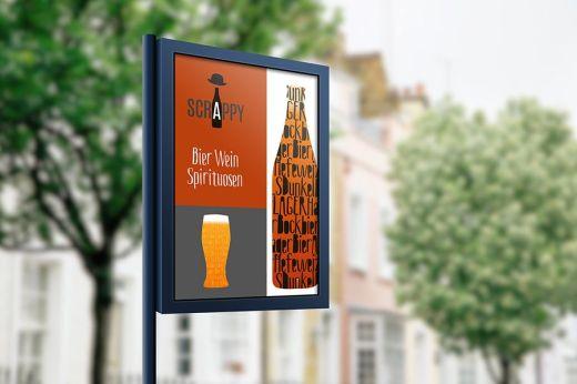 Plakat - Kunden Arbeit