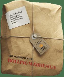 Webdesign und Printdesign Paket