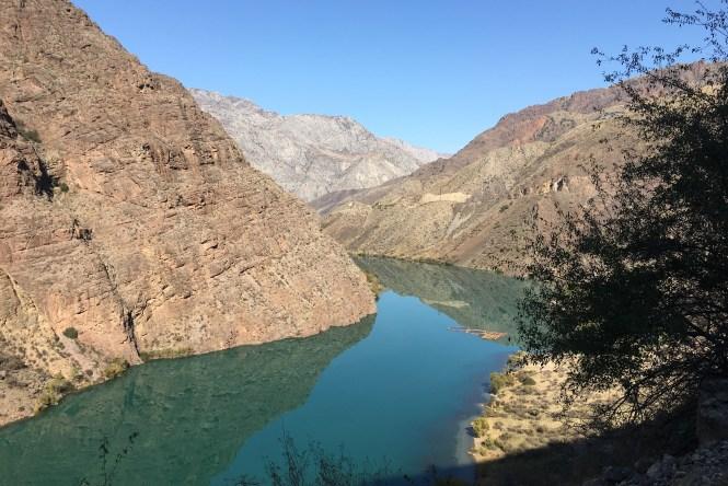 Reservoir-in-kyrgyzstan