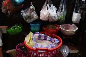 Noodles-hanging-in-bags-ready-to-cook