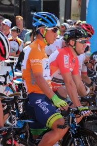 Caleb Ewan looks focussed