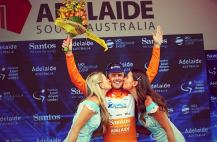 Gerrans on the podium