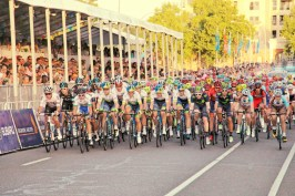 Sky and Orica set the pace