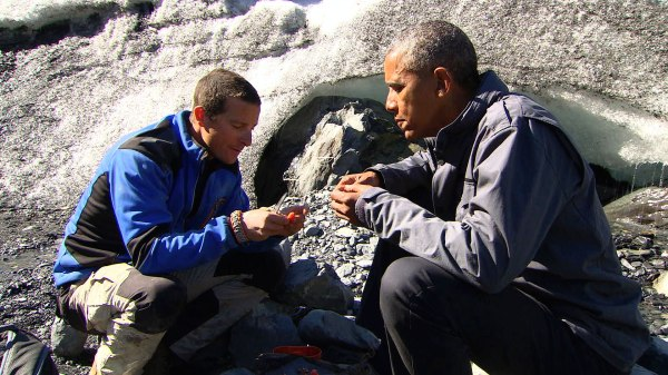 President Obama's episode of 'Running Wild With Bear ...