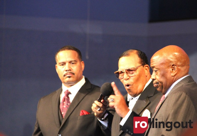 Image result for farrakhan at dick gregory's funeral