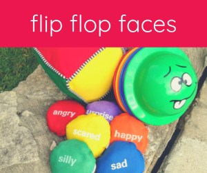 Flip Flop Faces bean bag game