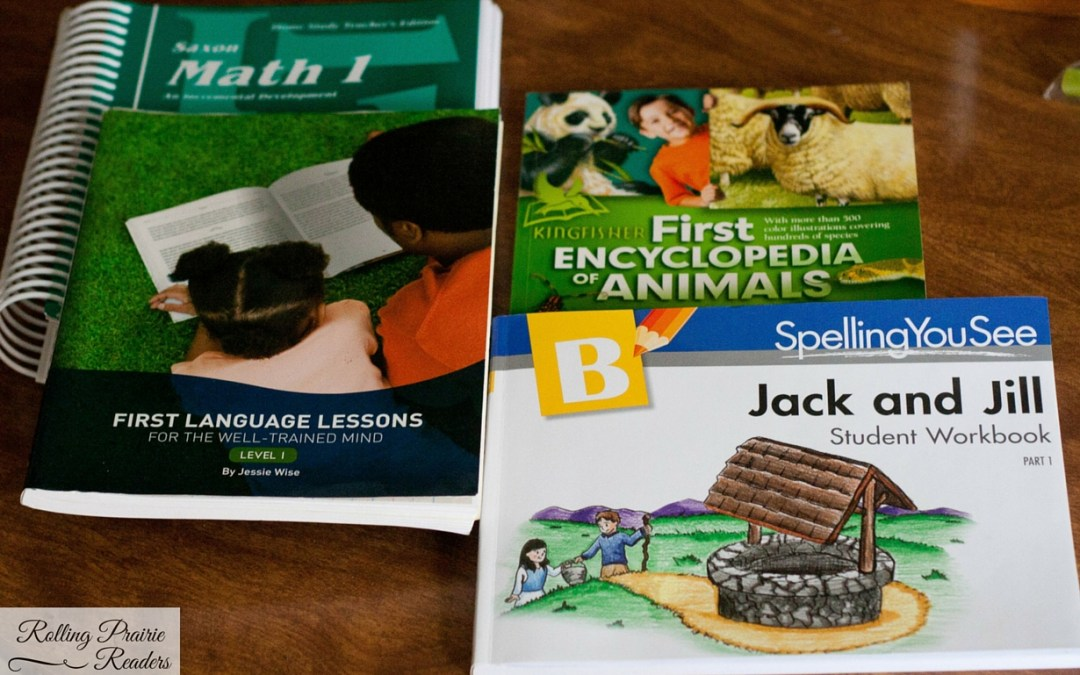 Homeschooling: 1st Grade Curriculum Choices