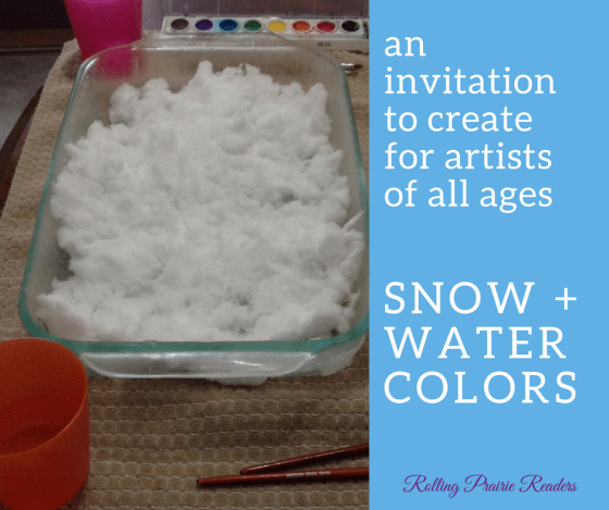 Winter Art for Kids | Snow + Watercolors