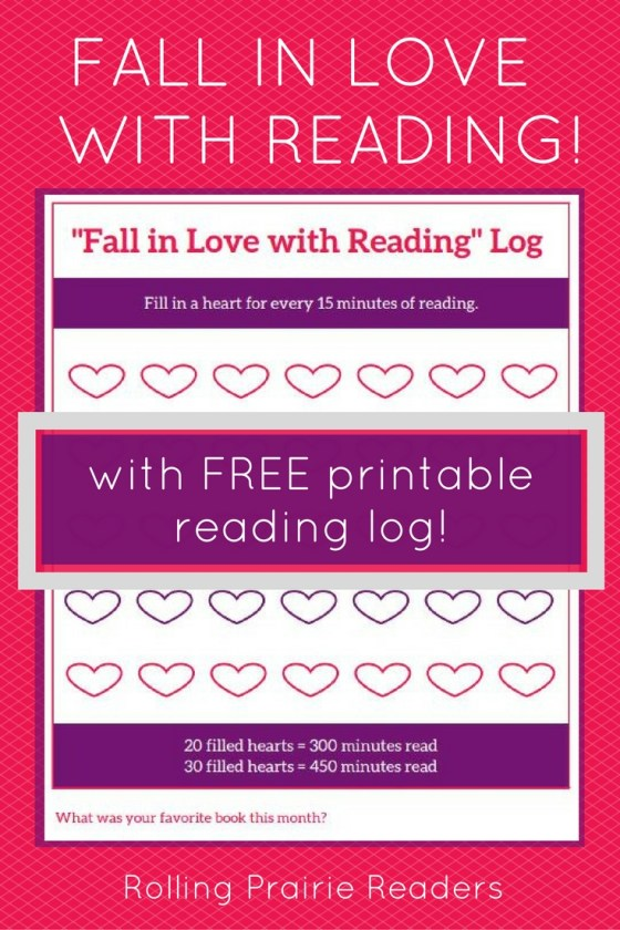 FREE Printable Reading Log from rollingprairiereaders.com | read aloud, intentional parenting, read with your kids