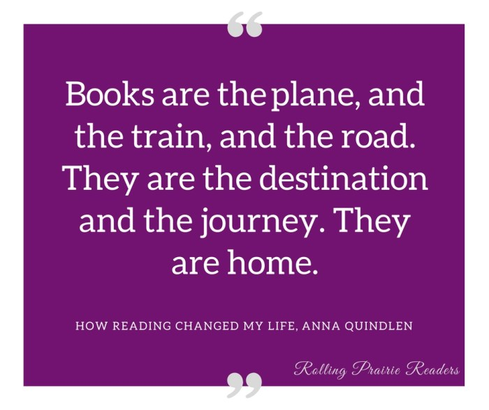How Reading Changed My Life by Anna Quindlen