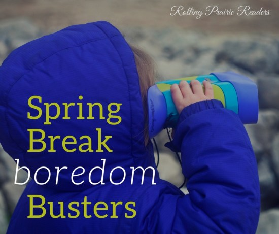 Spring Break Ideas for Families | family activities, spring break activities for kids, spring break at home, outside activities, indoor fun for kids, spring break boredom busters kids