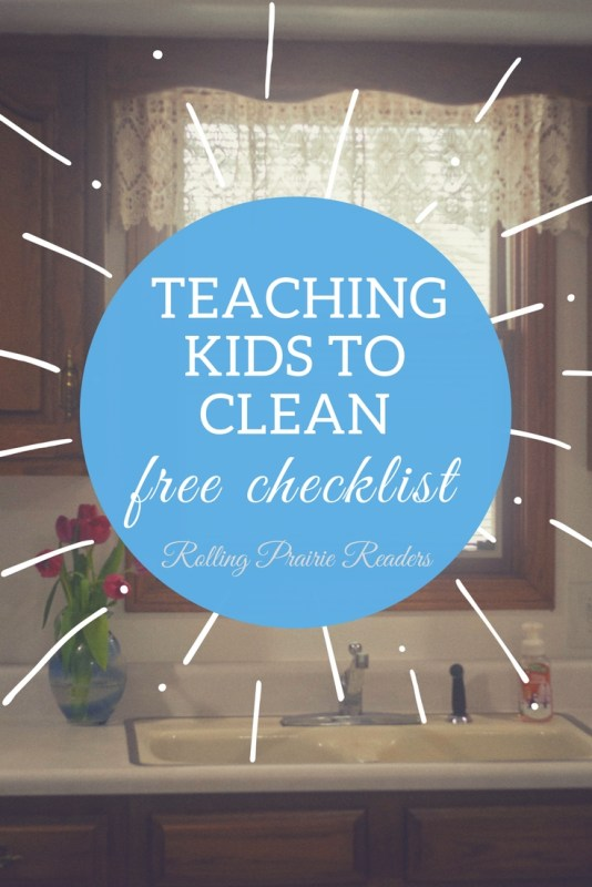 Teaching Kids to Clean with simple tips from Kendra Hennessy