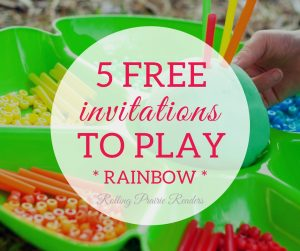 Five FREE 4th of Rainbow-Themed Activities for Toddlers and Preschoolers | tot school, preschool at home, learning at home, tactile activities, wahm kids