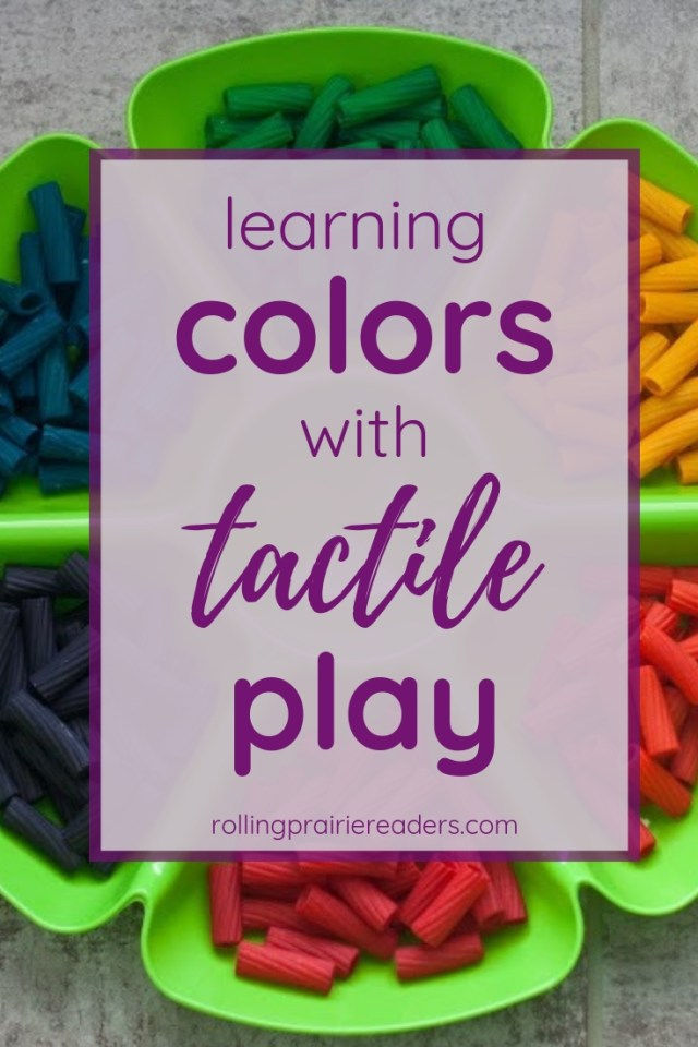 Learning Colors with Tactile Play