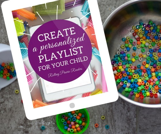 Create a fun, educational playlist for your toddler or preschooler! | learning at home, tot school, preschool at home, auditory learning style