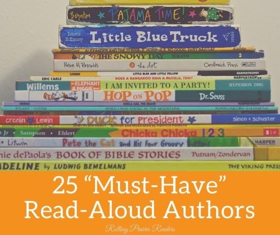 "25 ""Must-Have"" Read-Aloud Authors 