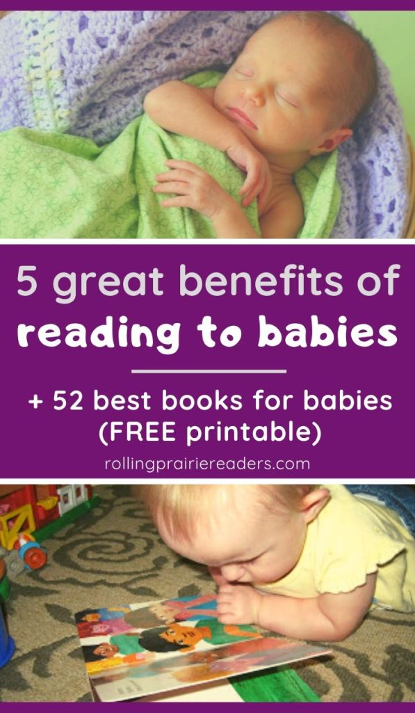 5 Benefits of Reading to Babies
