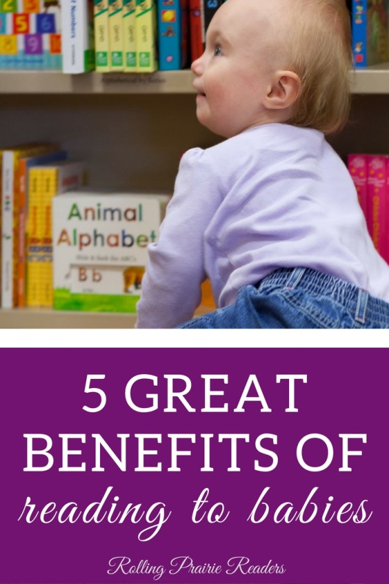 five great benefits of reading to babies from birth