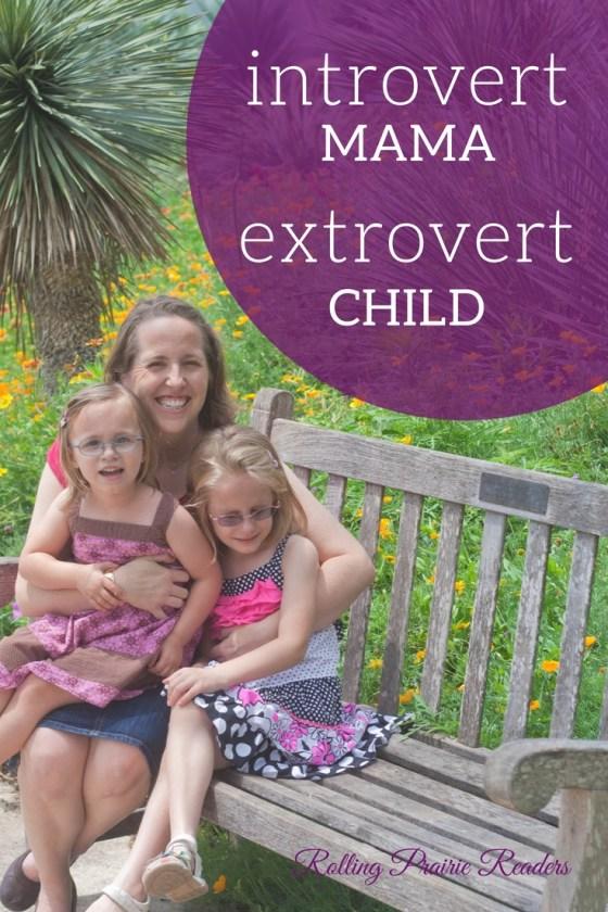 Introvert Mama, Extrovert Child