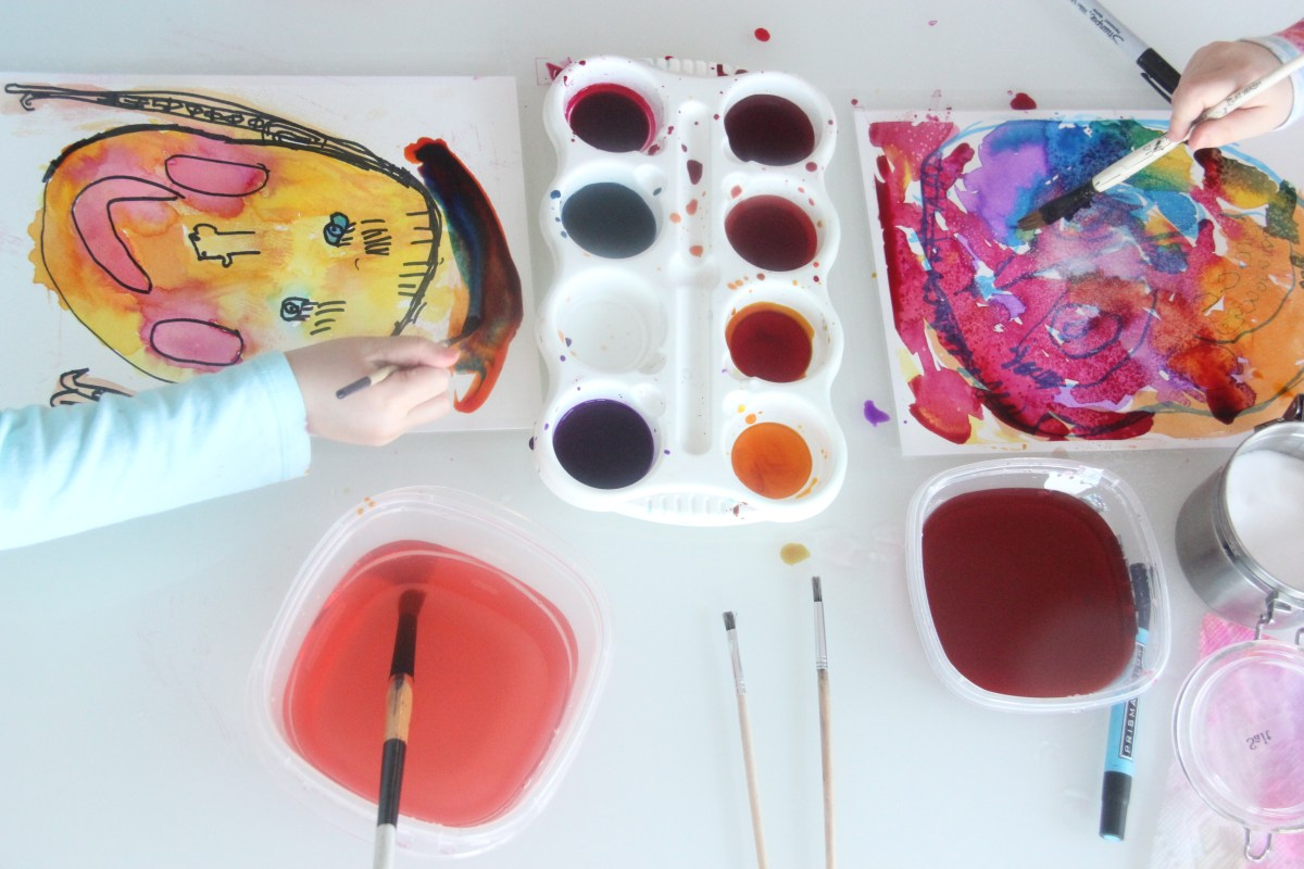 Three Ways to Set Up an Art Studio for Your Kids