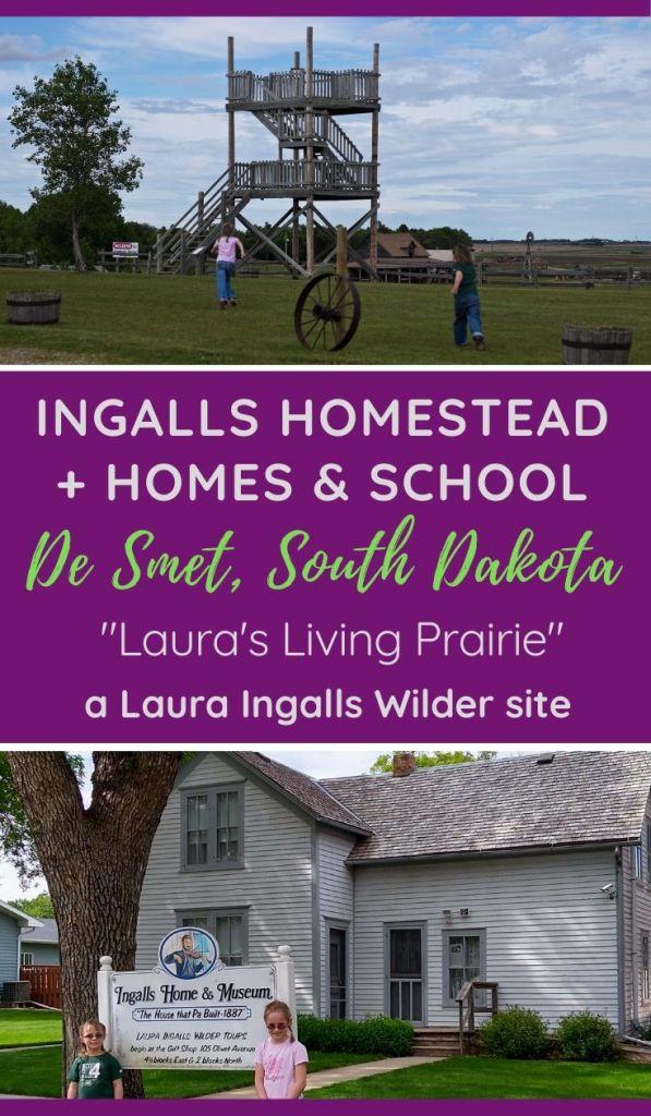 De Smet South Dakota Laura Ingalls