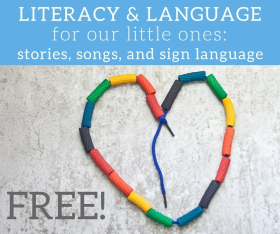 Join us for a FREE online Literacy & Language Class for babies and toddlers!