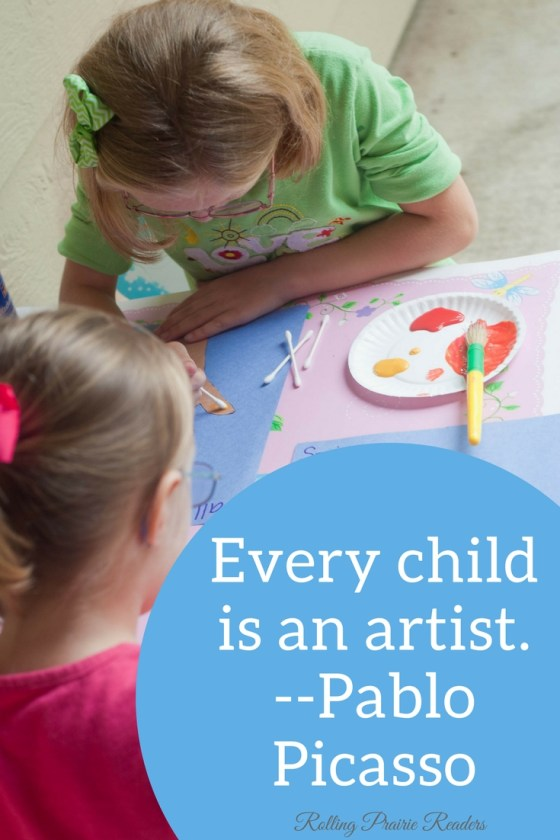Three Ways to Set Up an Art Studio for Your Kids | Rolling Prairie Readers