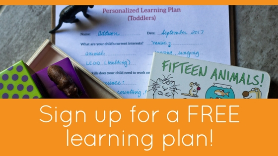 Sign up for a FREE learning plan!