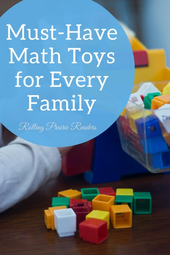 7 Must-Have Math Toys for Every Family | Learning at home can be fun with these great games and toys for kids of all ages! #educationaltoys #learningthroughplay