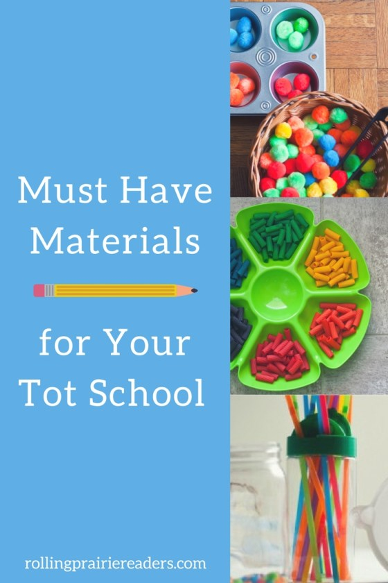 Recommended items for your tot school or preschool at home from an experienced homeschooling mom! | learning through play, homeschool curriculum recommendations, personalized learning