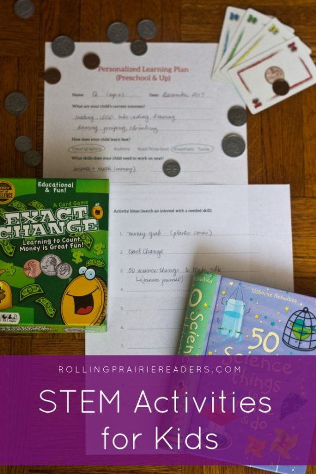 STEM Activities for Kids | Kindergarten, 1st Grade, Money Learning Games, Science and Math Learning Activities, Learning at Home