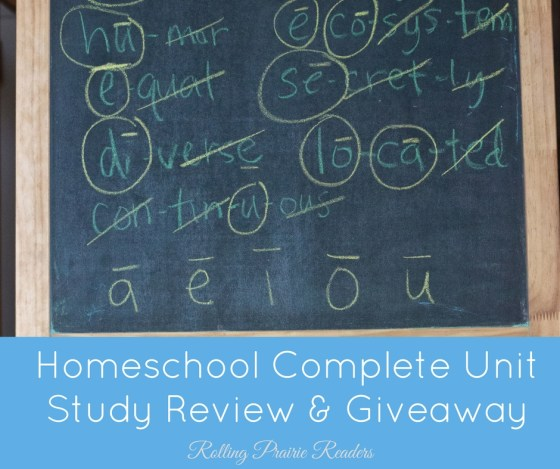 Unit Study: Homeschool Complete Review & Giveaway | homeschool ideas, homeschool curriculum, learning activities, first grade, second grade, third grade