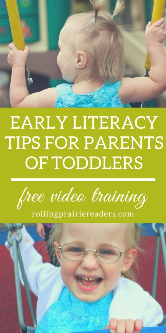 Toddler Literacy Tips: Free Video Training | toddler literacy activities, fun learning ideas, reading at home, tips for parents, language development, listening activities, nursery rhymes, tot school, preschool at home, parenting