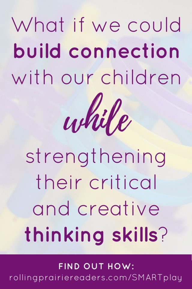 text:What if we could build connection with our children while strengthening their critical and creative thinking skills?