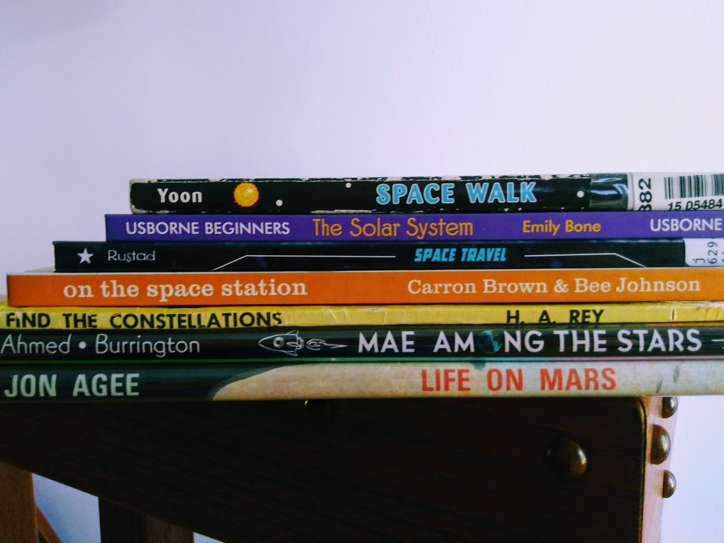 17 Awesome Space Books for Kids