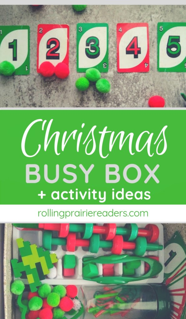Christmas Busy Box and Activity Ideas